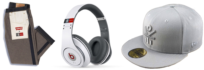 Levi's, Beats by Dre & New Era EKOCYCLE products