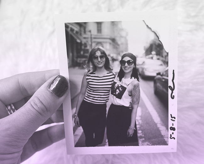 Polaroids in Soho